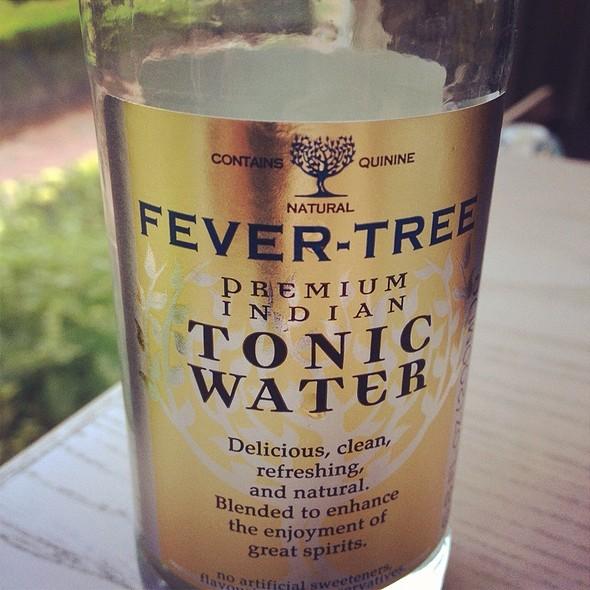 Tonic water @ The Fearrington House Restaurant