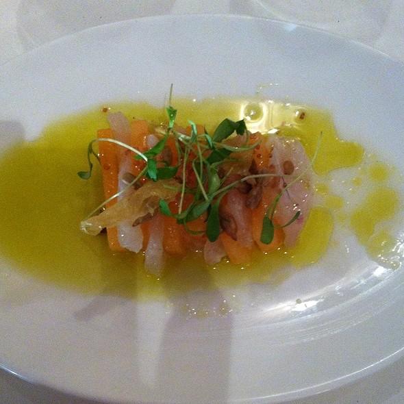Fluke Sashimi - The North Fork Table & Inn, Southold, NY