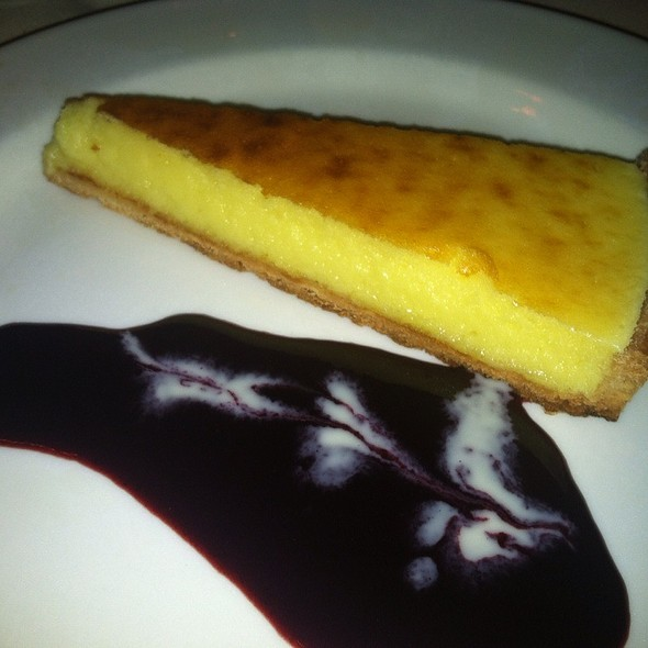 Tarte au Citron / Lemon Tart - La Mangeoire, New York, NY