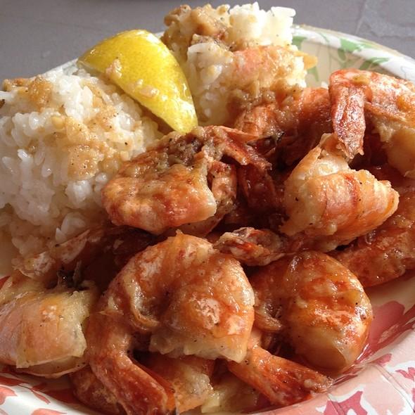 Shrimp Scampi @ Giovanni's Original Shrimp Truck
