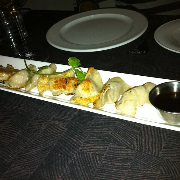 Chicken & Leek Potstickers - Oliver & Bonacini Cafe Grill, Blue Mountain, Blue Mountains, ON