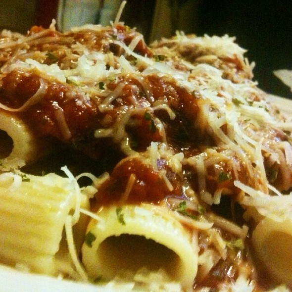Rigatoni With Sausage @ Mark's Place