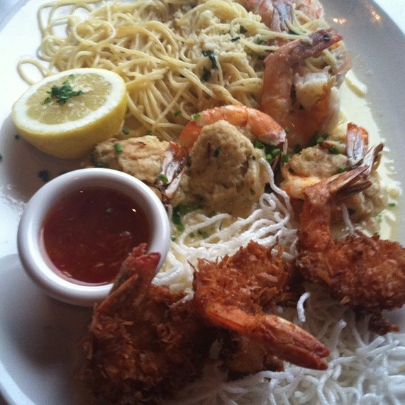 Best Of Shrimp - Coconut Shrimp, Crab Stuffed Shrimp, & Shrimp Scampi - Chart House Restaurant - Portland, Portland, OR