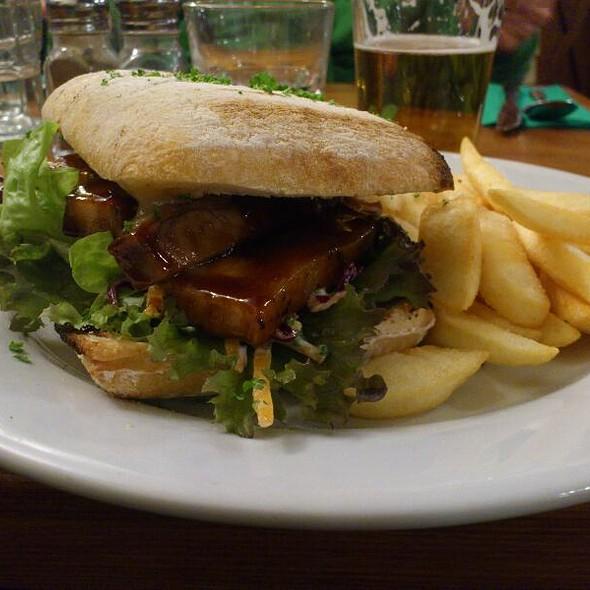 Pork Belly Burger @ Wanaka Ale House