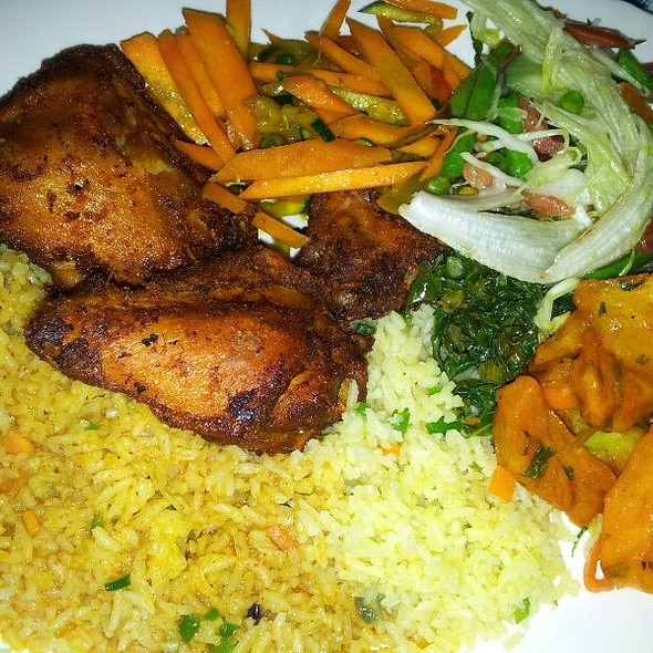 African Buffet @ Tamu tamu dishes