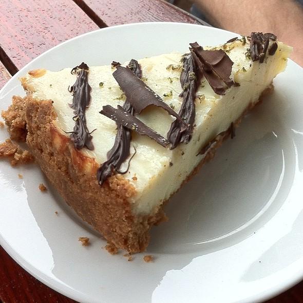Lime & Dark Chocolate Cheesecake @ Olive