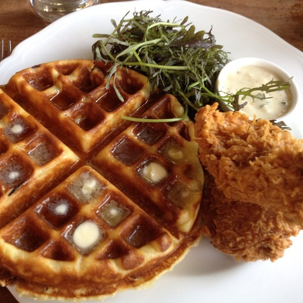 Savory Waffle - The Tasting Kitchen, Venice, CA