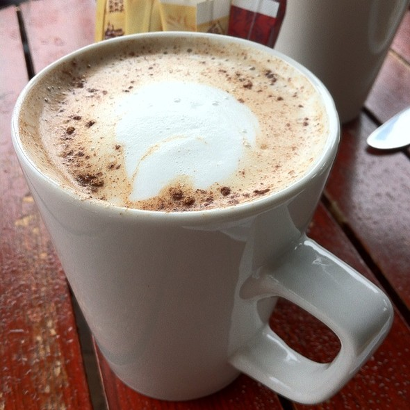 Spicy Chai Latte @ Olive