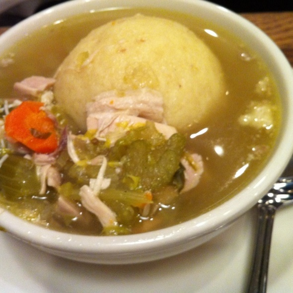 Chicken Matzoball Soup @ Greenblatt's Deli-Restaurant And Fine Wine Shop