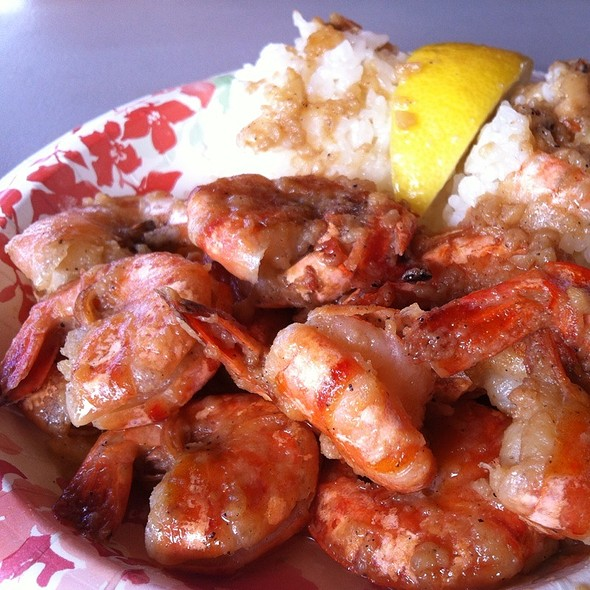 Shrimp Scampi @ Giovanni's Original Shrimp Truck