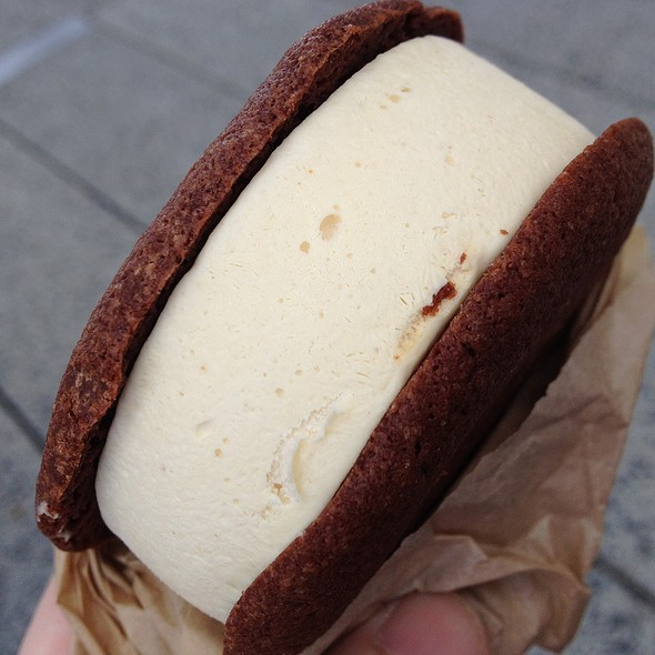 Brownie Ice Cream Sandwich @ Melt Bakery