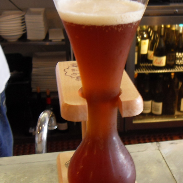 Pauwel Kwak Beer @ Bar Crudo