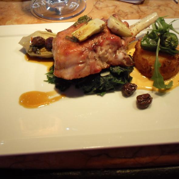 Eden Valley Pork Prime Rib Chop @ Boulevard