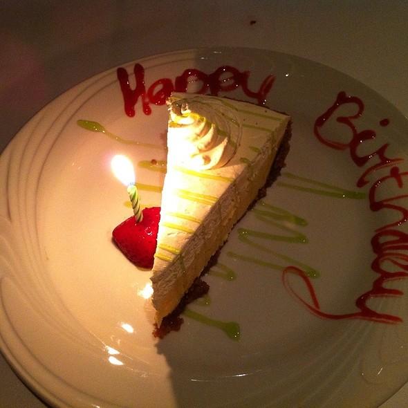 Key Lime Pie - Fogo de Chao Brazilian Steakhouse - Kansas City