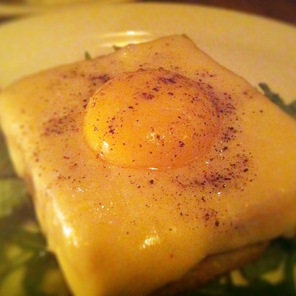 Truffled Egg Toast @ Tria
