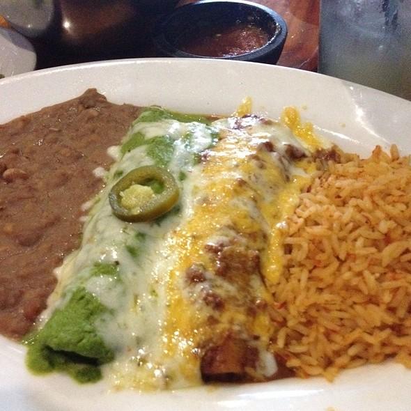 enchiladas @ Avila's Mexican Restaurant