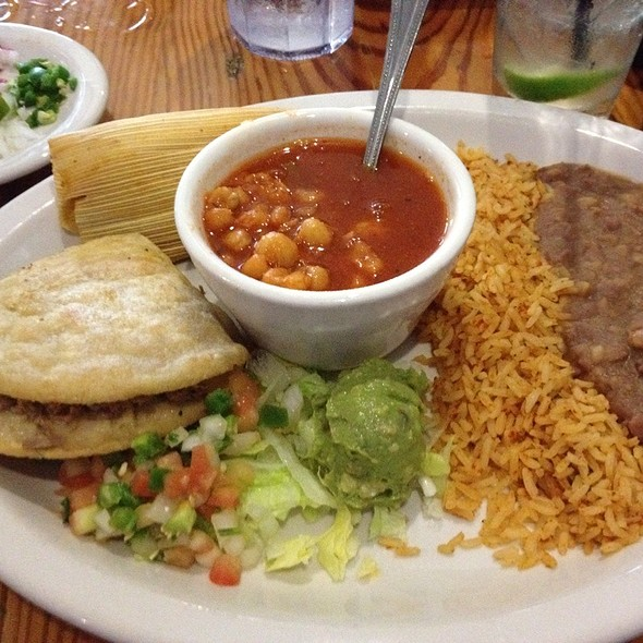 Triple D Plate @ Avila's Mexican Restaurant