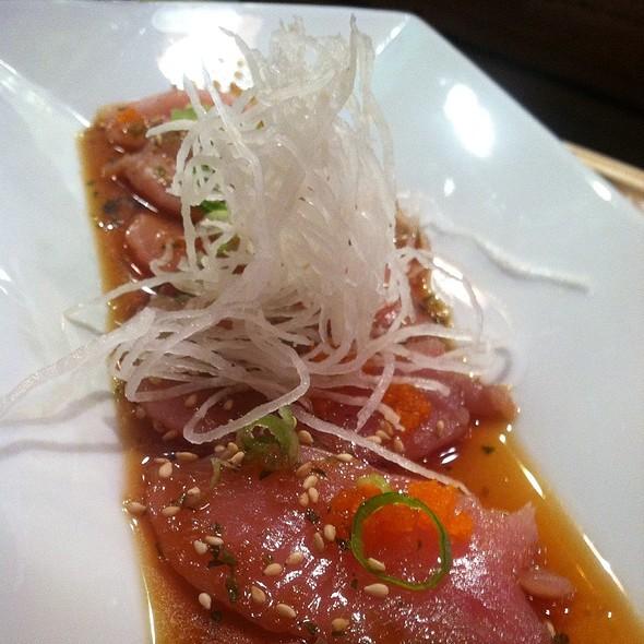 Sashimi Carpaccio @ Ten-Ichi Restaurant