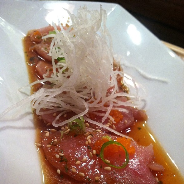 Sashimi Carpaccio @ Ten-Ichi Restaurant