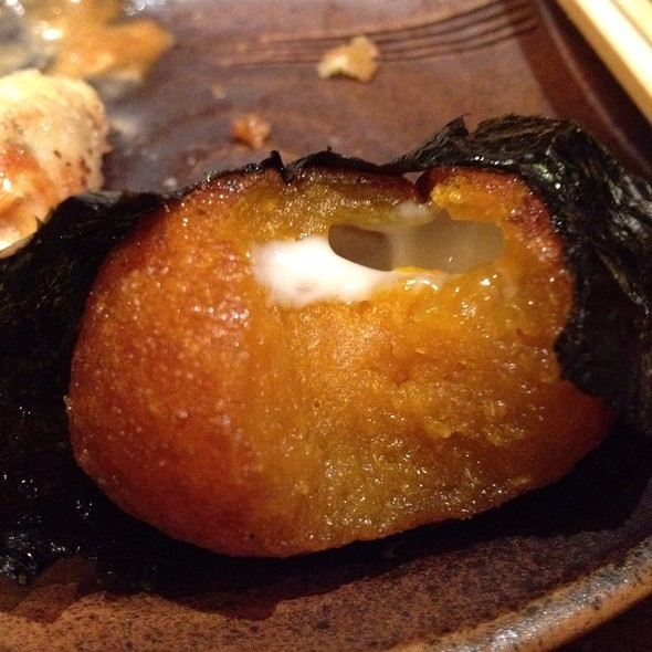 Kabocha Squash Mochi Patties With Cheese, Soy Glazed