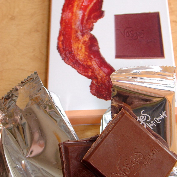 Vosges Milk chocolate Bacon Bar @ Country Cheese Coffee Market