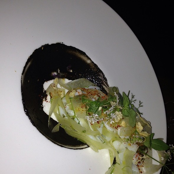 Cuttlefish Green Papaya Coconut Cream Black Lime - ink., West Hollywood, CA