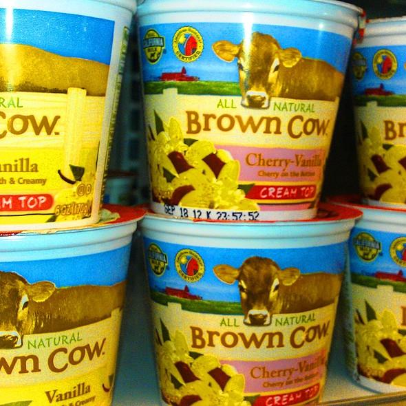 Brown Cow Yogurt