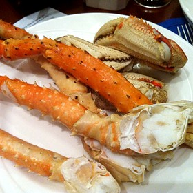 Dungeness Crab And King Crab Legs