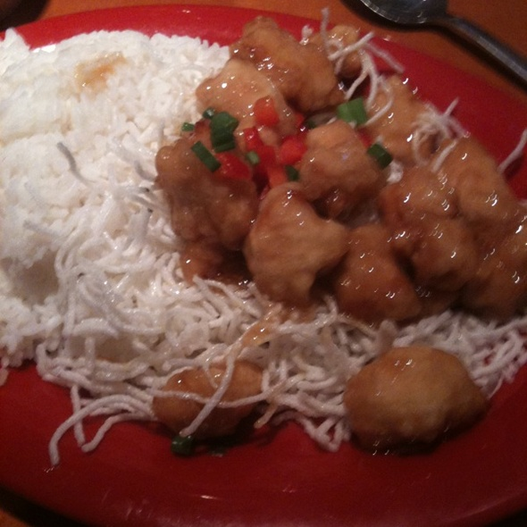 Honey Seared Chicken @ Pei Wei Asian Diner