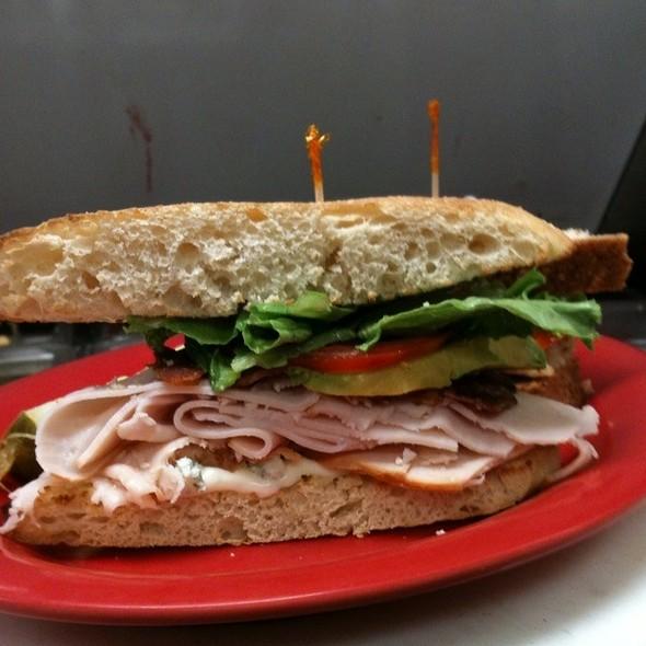 Turkey Cobb Club Sandwich at McAlister's Deli Okemos
