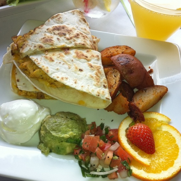 Breakfast Quesidilla @ Lei Lounge