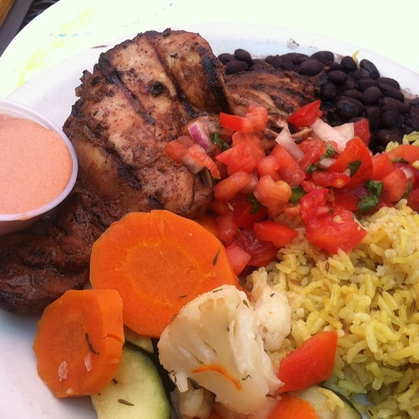 Jerk Chicken @ Primo Patio Cafe