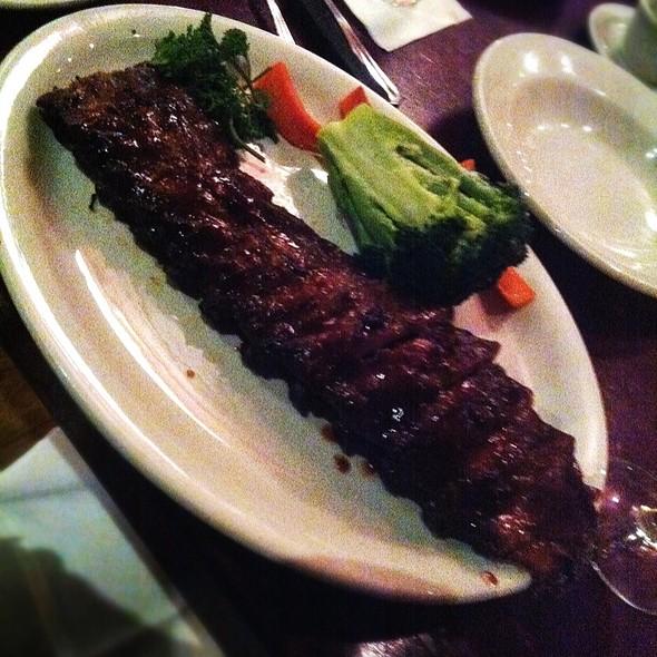Bbq Pork Back Ribs - Bâton Rouge Steakhouse & Bar - de la Montagne, Montréal, QC