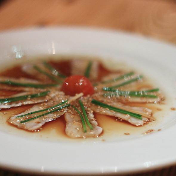 New Style White Fish Sashimi - Nobu Las Vegas - Hard Rock Hotel & Casino, Las Vegas, NV