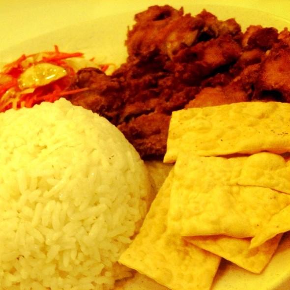 Chicken Chop With Rice @ 冰点 Igentis @ Tropicana City Mall
