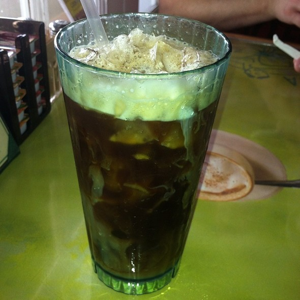 Iced Coffee - Banana Cafe, Key West, FL