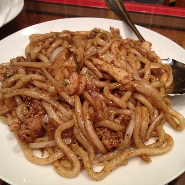 Black Pepper Fried Udon