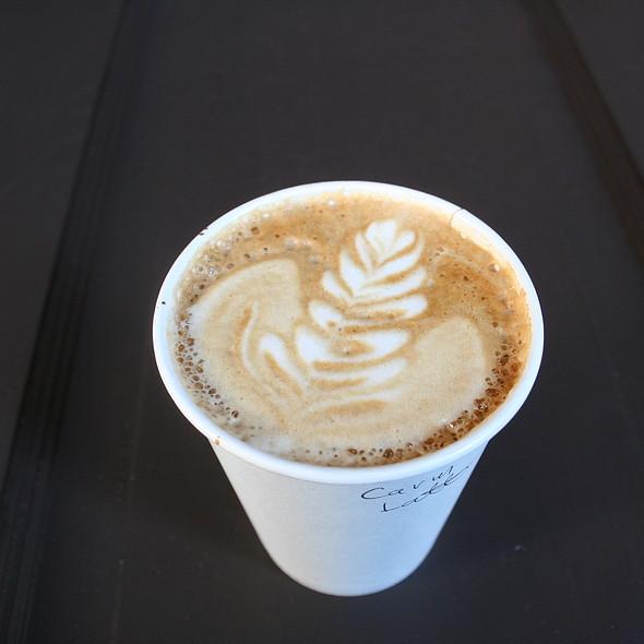 Carmel Latte @ Cafe Kubal