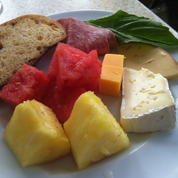 Cheese and Fruit Plate - Kai Market - Sheraton Waikiki, Honolulu, HI