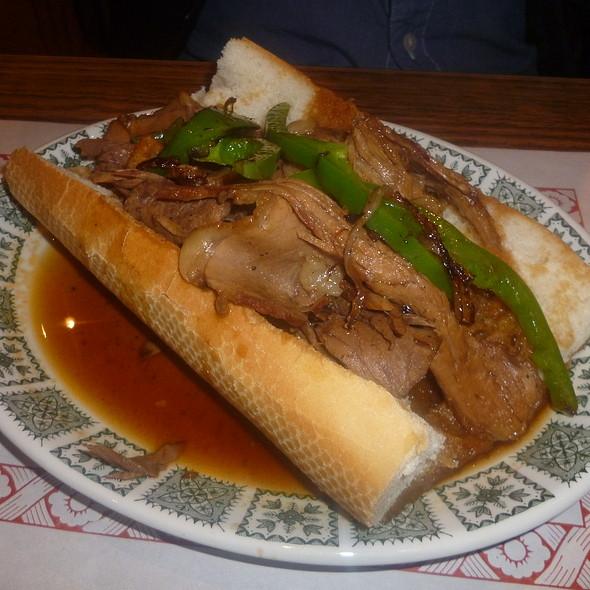 Hot Beef Sandwich @ Nouveau Palais
