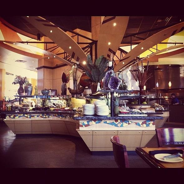 Salad Bar @ Tucanos Brazilian Grill