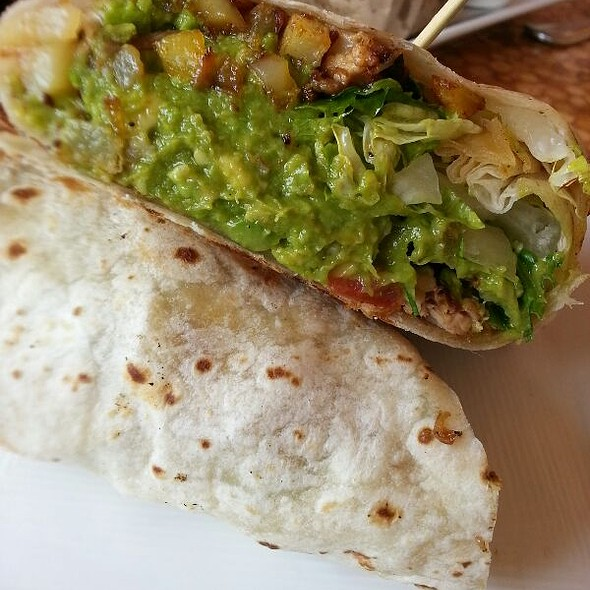 Pork Belly Hash Burrito @ Carnitas' Snack Shack