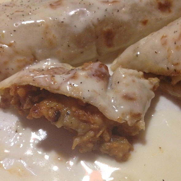 Burrito Con Chorizo @ Cancun Mexican Restaurant