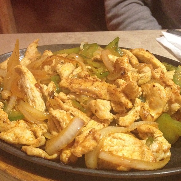 Chicken Fajitas @ Cancun Mexican Restaurant