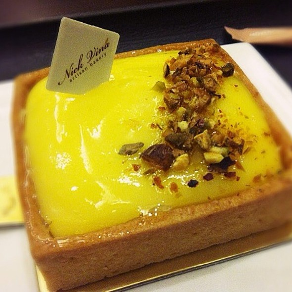 lemon tart @ Nick Vina Artisan Bakery
