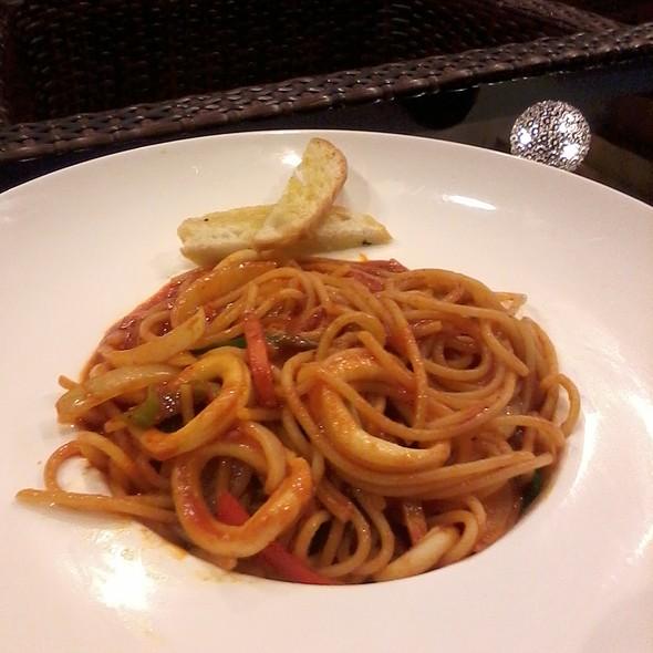 Szechuan Squid Spaghetti