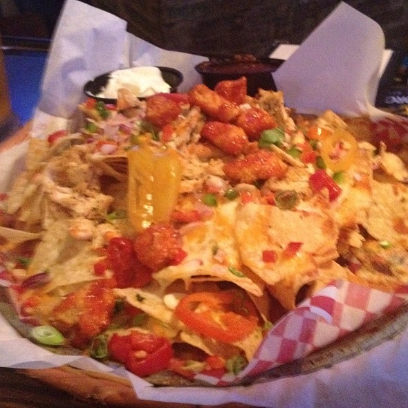 Buffalo Chicken Nachos - The Loose Moose Tap & Grill, Toronto, ON