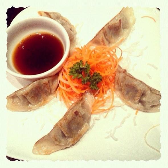 Beef Gyoza @ Dazzling Modern Restaurant & Bar