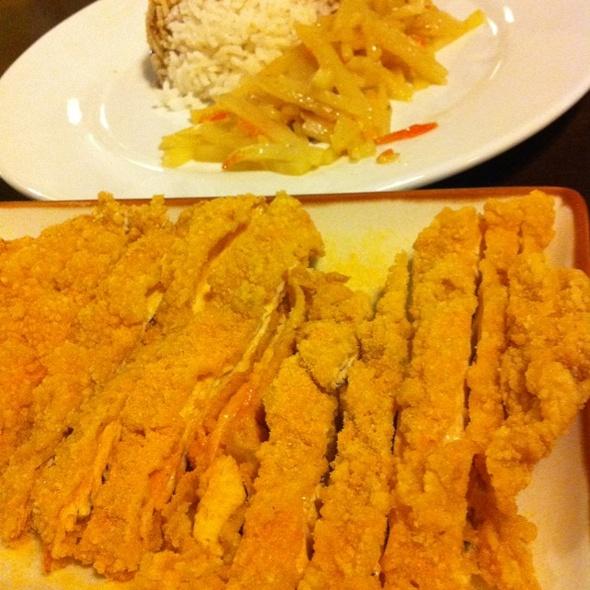 Shihlin Crispy Chicken Rice @ Taiwan Dami