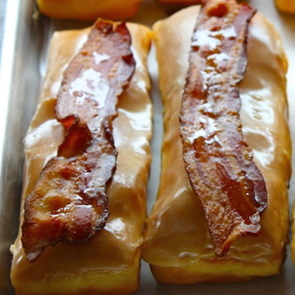 Maple Bacon Long John @ Glazed and Infused
